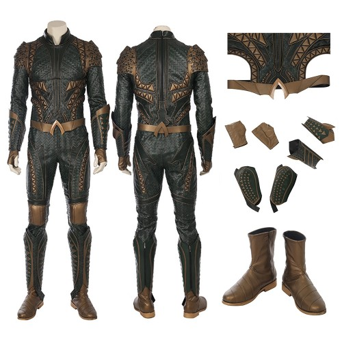 Aquaman Arthur Curry Cosplay Costume Justice League Costumes