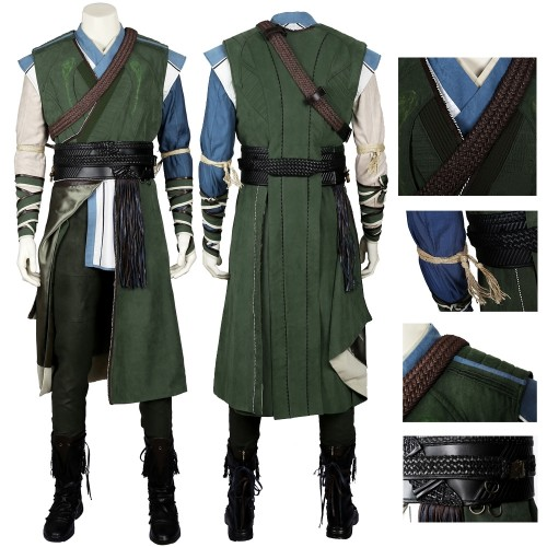 Doctor Strange Baron Mordo Cosplay Costume Top Level