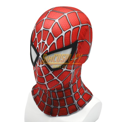 Spider-man Classic Cosplay Suit Tobey Maguire Edition Cosplay Cosplay Mask With Half Face Shell