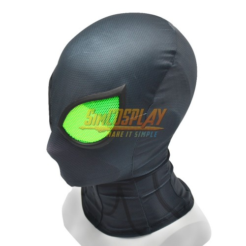 Spider-man Big Time Suit Spider man Stealth Suit Cosplay Cosplay Mask With Half Face Shell