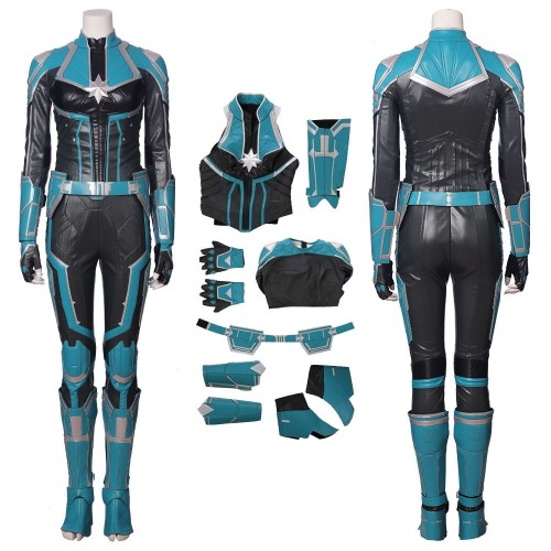 2019 Captain Marvel StarForce Uniform Cosplay Costume