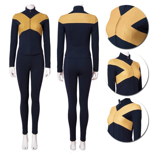 2019 Dark Phoenix X-men Cosplay Costumes Female Top Level