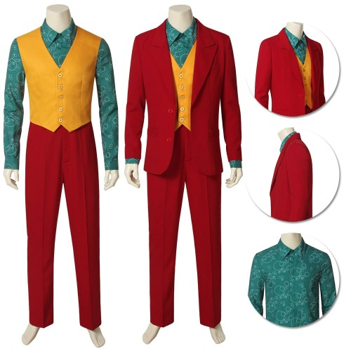 2019 Joker Origin Cosplay Costume Arthur Fleck Cosplay Outfits
