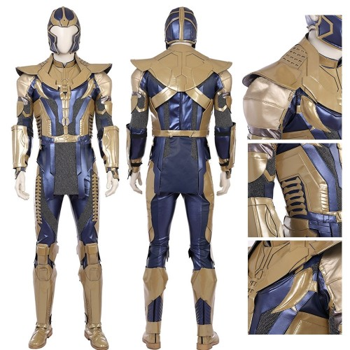 Top Level Avengers Infinity War Thanos Cosplay Costume Full Set