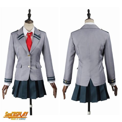 Academia Izuku School Female Uniform My Hero Academia Cosplay Costumes