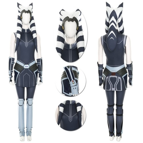 Ahsoka Tano Cosplay Costumes Star Wars Clone Wars Cosplay Suit Top Level
