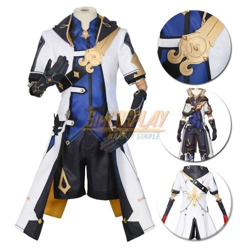 Albedo Cosplay Costume Genshin Impact Cosplay Suit Promotion Edition