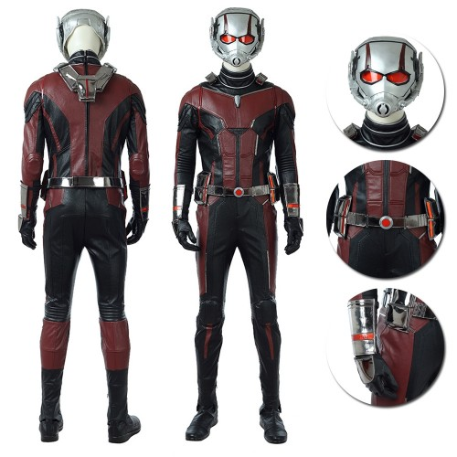 Ant-Man and the Wasp 2018 Ant Man Cosplay Costume Top Level