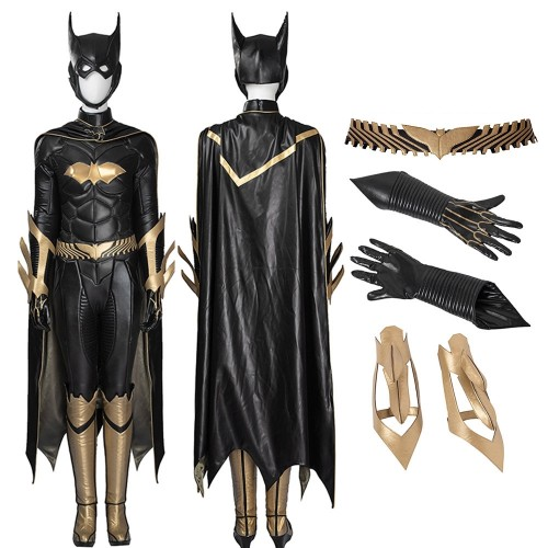 Arkham Knight Batgirl Cosplay Costume Top Level