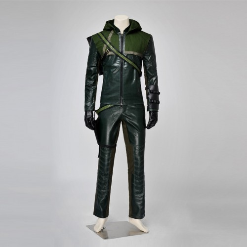 Arrow Oliver Queen Cosplay Costumes Season 1 sim1126as1