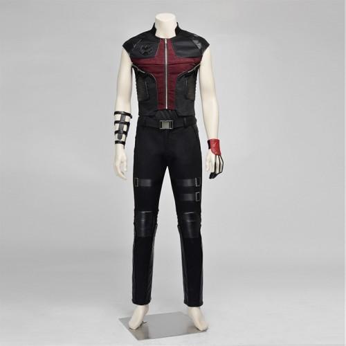 Avengers Hawkeye Clint Barton Cosplay Costume sim1126ahcb