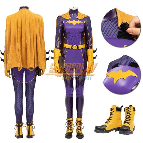 Batgirl Cosplay Costumes 2021 Gotham Knights Cosplay Suit Top Level