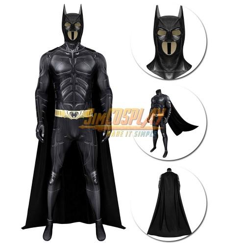 Batman Cosplay Costume Dark Knight Rises Batsuit Spandex Edition