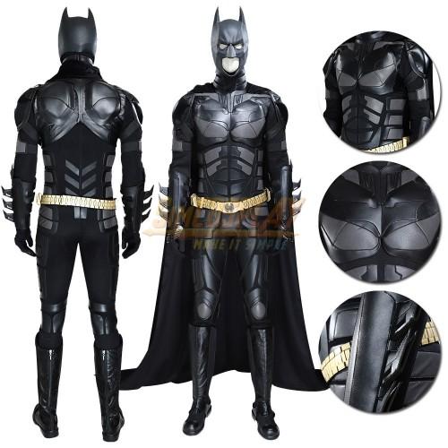 Batman Cosplay Costumes The Dark Knight Rises Batman Suit Top Level