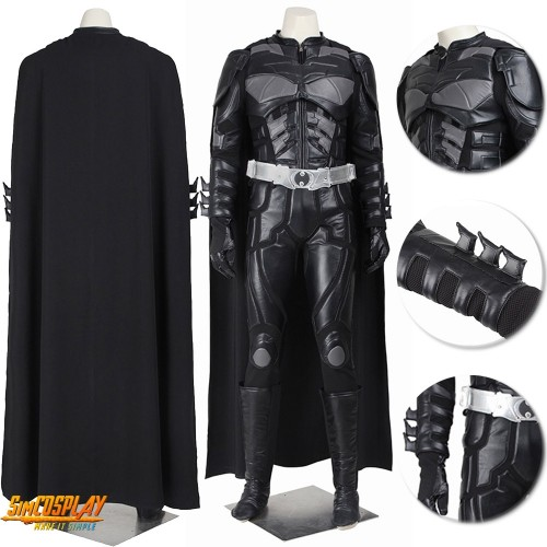 Batman Costume The Dark Knight Rises Cosplay Suit Top Level