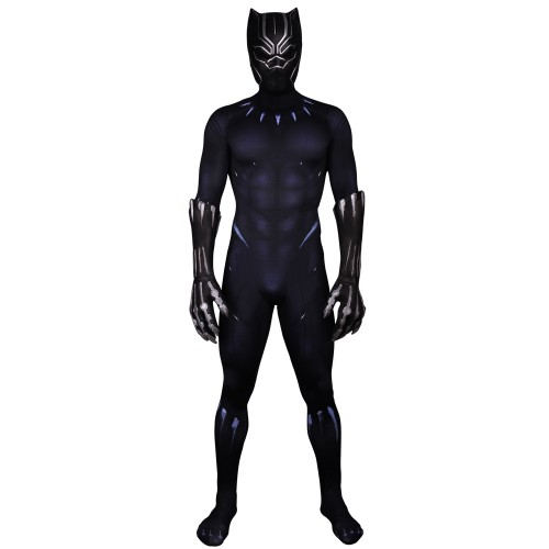 Black Panther Cosplay Jumpsuit Zentai sim1204bpj