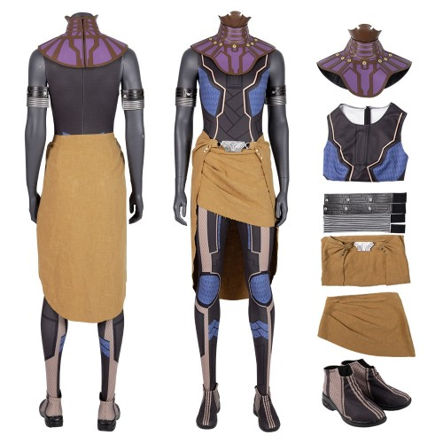 Black Panther Shuri Cosplay Costumes Wakanda Princess Suits Top Level