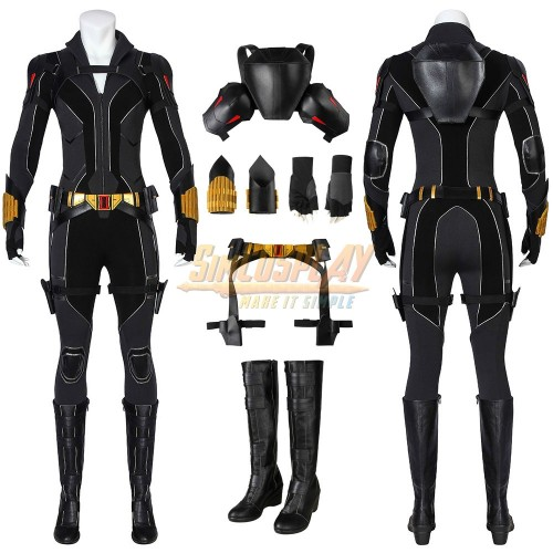 Black Widow 2020 Cosplay Costumes Natasha Romanoff Suit Promotion Edition