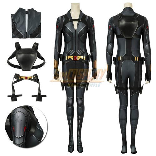 Black Widow Cosplay Costume Natasha 3D Printed Spandex Suit