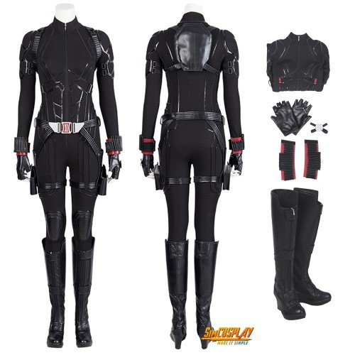 Black Widow Costumes Endgame Natasha Romanoff Suit Top Level