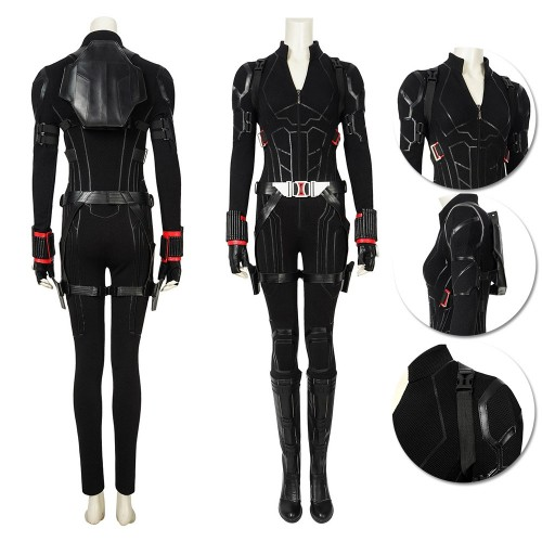 Black Widow Natasha Cosplay Costume Top Level