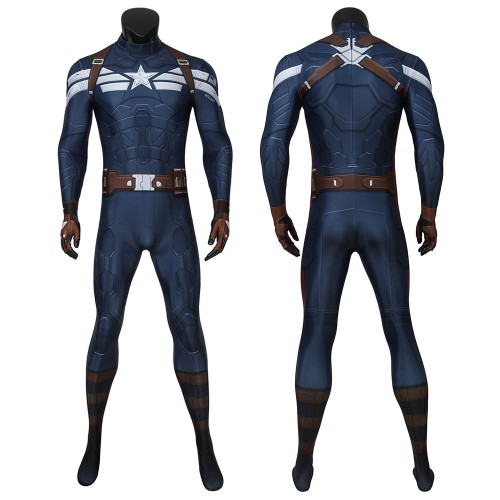 Captain America Classic Cosplay Zentai The Winter Soldier Bodysuit