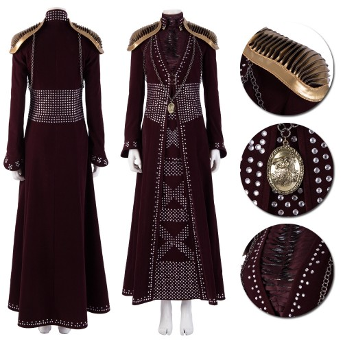 Cersei Lannister Cosplay Costume Queen of the Seven Kingdoms Cosplay Suits Top Level