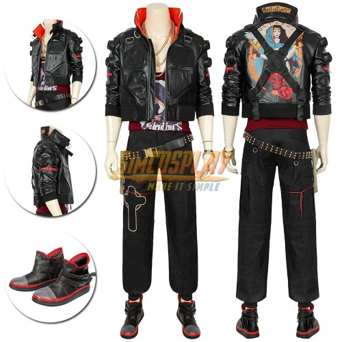 Cyberpunk 2077 Jackie Cosplay Costumes Cyberpunk Cosplay Suit Top Level