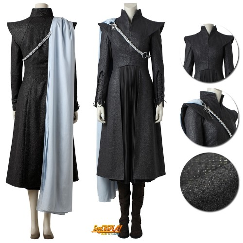 Daenerys Targaryen Costume Game of Thrones S7 Cosplay Suits