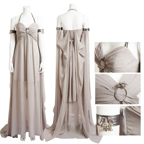 Daenerys Targaryen Qarth Dress Mother of Dragons Cosplay Costume Game Of Thrones Costumes