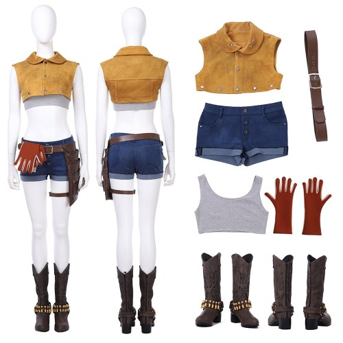 Devil May Cry 5 DmC Nico Cosplay Costume Full Set