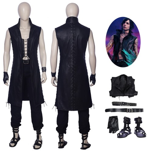 Devil May Cry 5 V Mysterious Man Cosplay Costume Sim1203vm