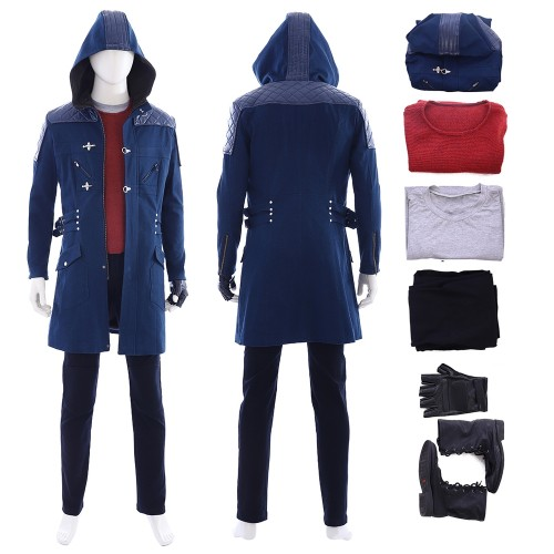 Devil May Cry 5 DmC Nero Cosplay Costume Full Set