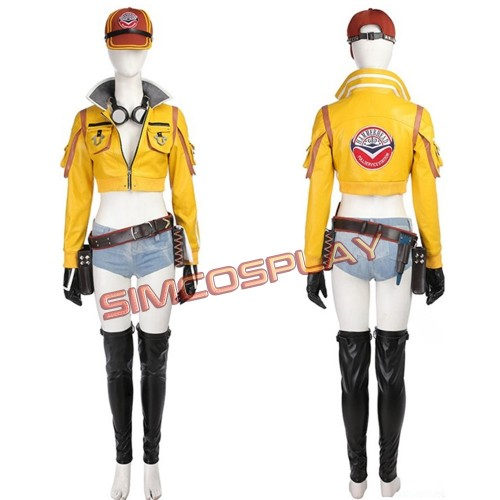 FFXV Cindy Aurum Cosplay Costume Final Fantasy Cosplay Costume