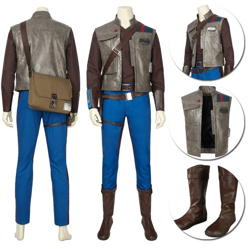 Finn Cosplay Costume Star Wars 9 The Rise of Skywalker Cosplay Suits Sac4446