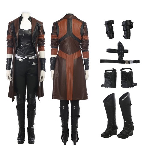 Gamora Cosplay Costume Guardians of The Galaxy 2 Costume Only Coat