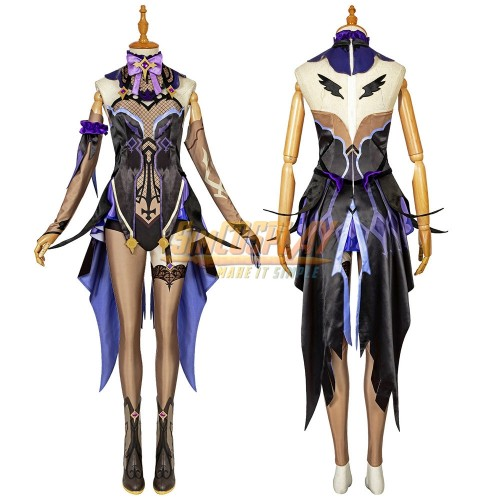 Genshin Impact Fischl Cosplay Costume Top Level