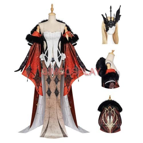 Genshin Impact Signora Cosplay Costume Genshin Dress Up Suit Ver.2
