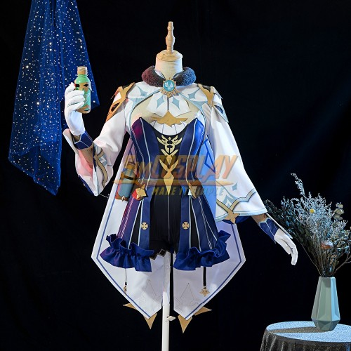 Genshin Impact Sucrose Cosplay Costumes For Girls Promotion Edition