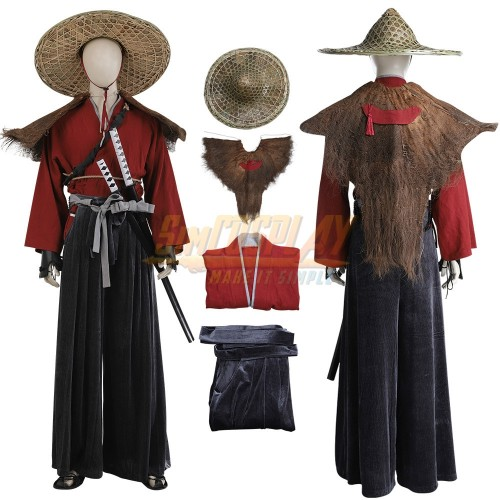 Ghost of Tsushima Samurai Cosplay Costumes Top Level