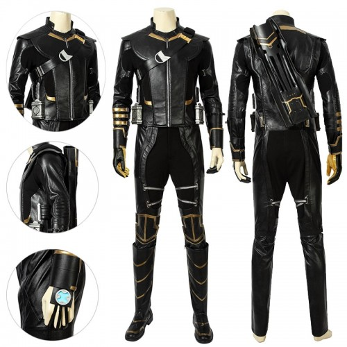 Hawkeye Cosplay Costume Endgame Clinton Barton Suits Ver.2