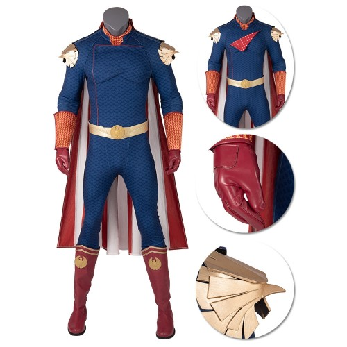 Homelander The Seven Cosplay Costume The Boys S1 Costume Top Level