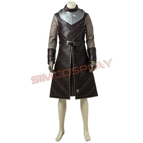 Jon Snow Cosplay Suit Game Of Thrones Season 7 Costume