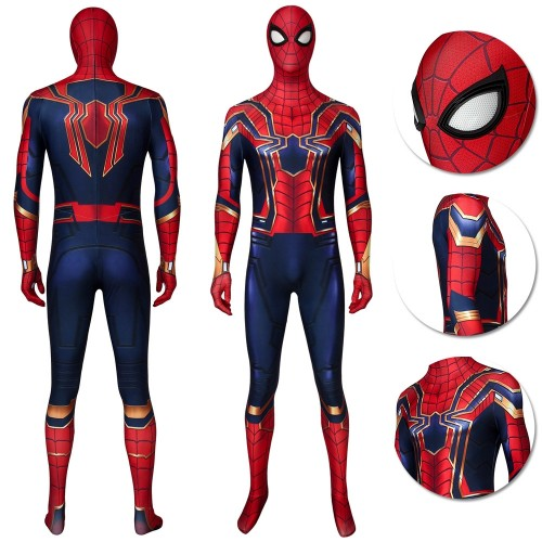 Iron Spiderman Cosplay Suit Endgame Spider-man Costume Ver.2