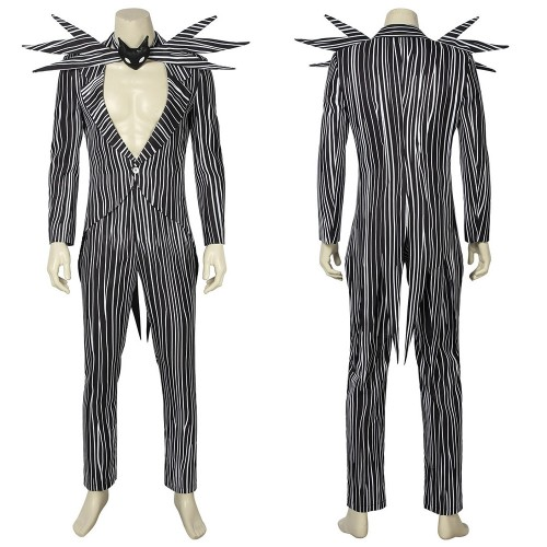Jack Skellington Cosplay Costume The Nightmare Before Christmas Classic Suit