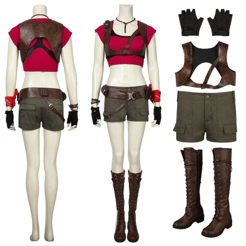 Jumanji Ruby Roundhouse Cosplay Costume Top Level
