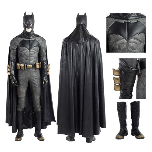Justice League Batman Outfits Cosplay Costume Deluxe Version