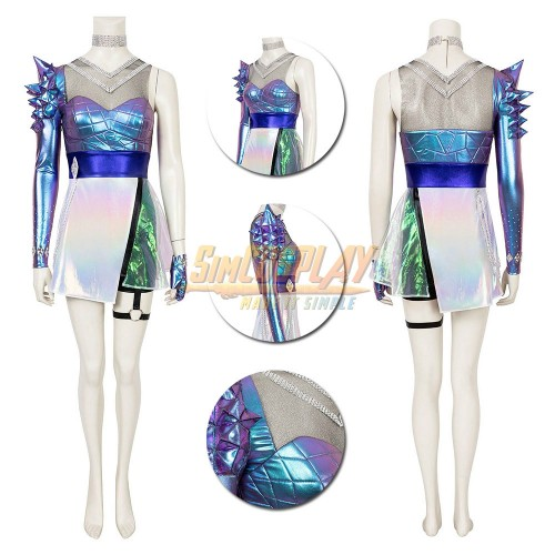 KDA All Out Ahri Cosplay Costume LOL KDA Cosplay Suit Ver.1