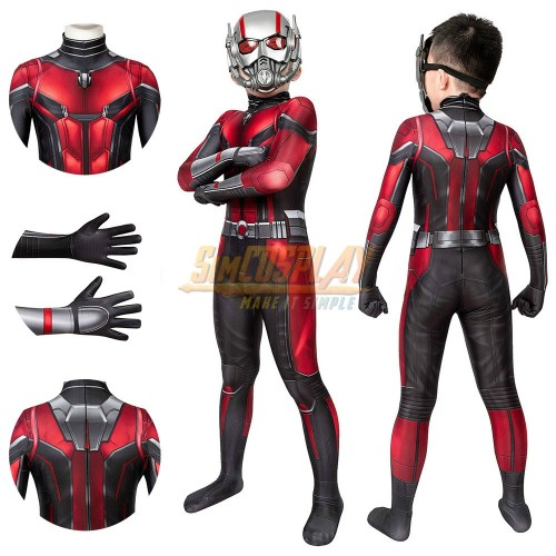 Kids Ant-man Cosplay Costume For Children Halloween Cosplay