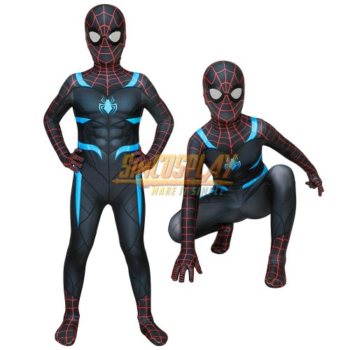 Kids Spider-man Secret War Suit Cosplay Costume For Children Halloween